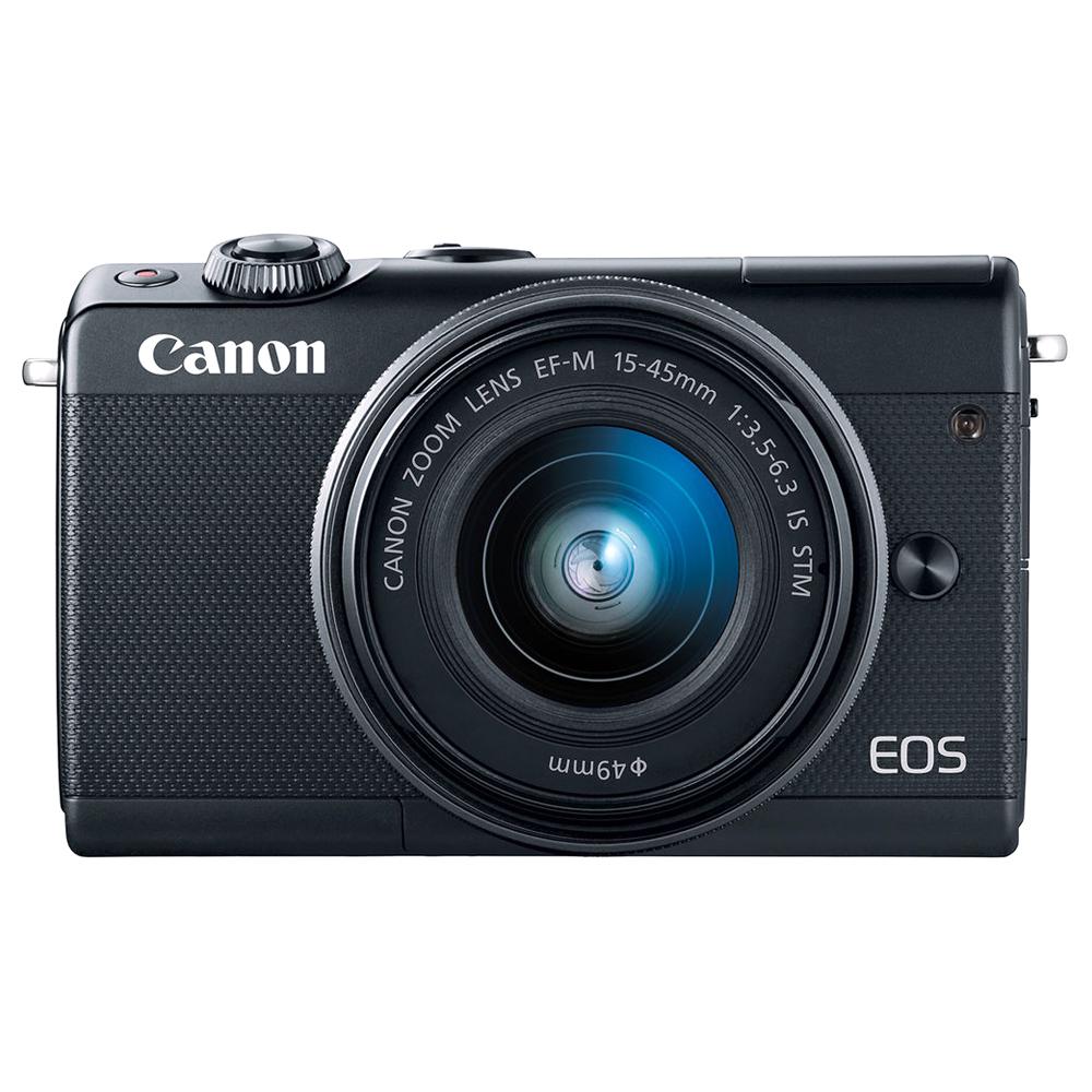 캐논 EOS M100 15-45 KIT 미러리스 카메라, EOS M100(블랙)