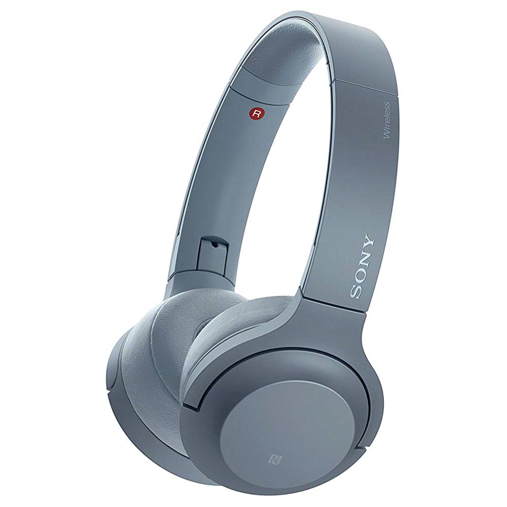 소니 hear on 2 Mini Wireless 블루투스헤드폰, 문릿 블루, WH-H800