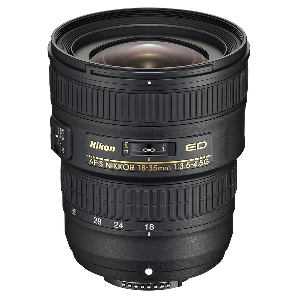 니콘 줌렌즈 니코르 AF-S 18-35mm F3.5-4.5G ED, 단일 상품