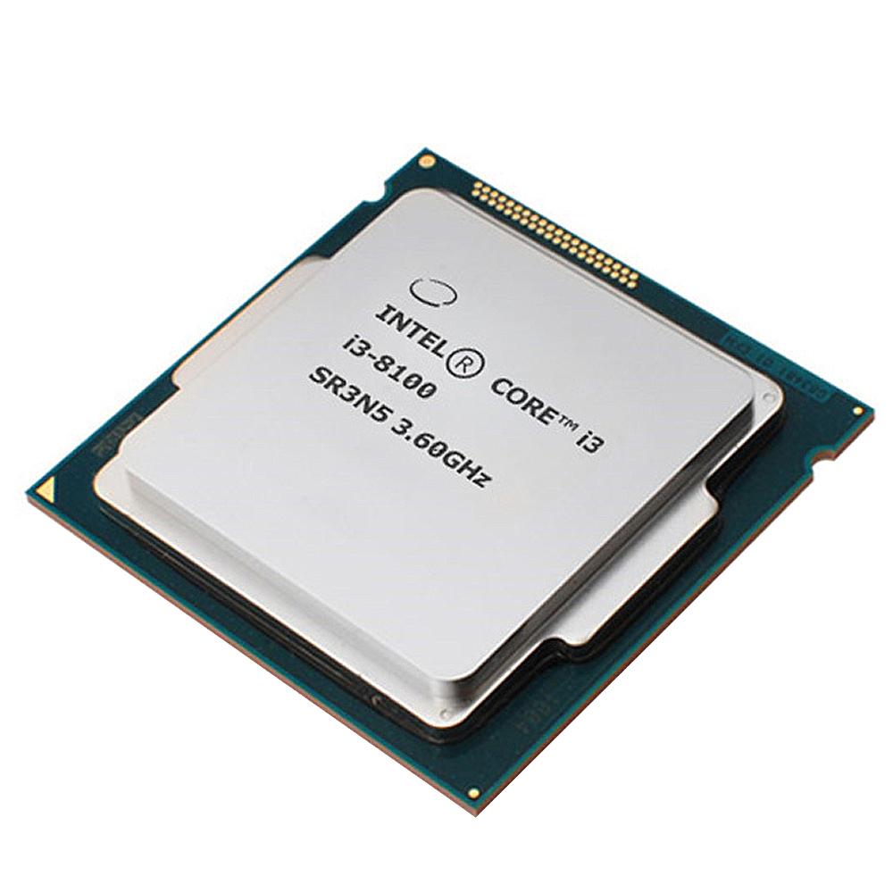 인텔 코어 i3-8세대 8100 프로세서 CPU 커피레이크 i3-8100