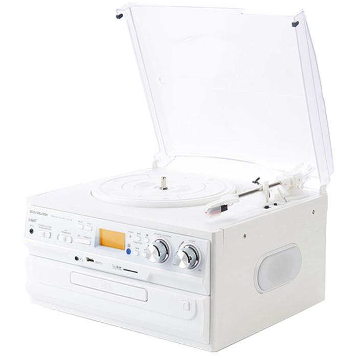 사운드룩 디지털 CD/ USB LP 턴테이블 SLT-300W