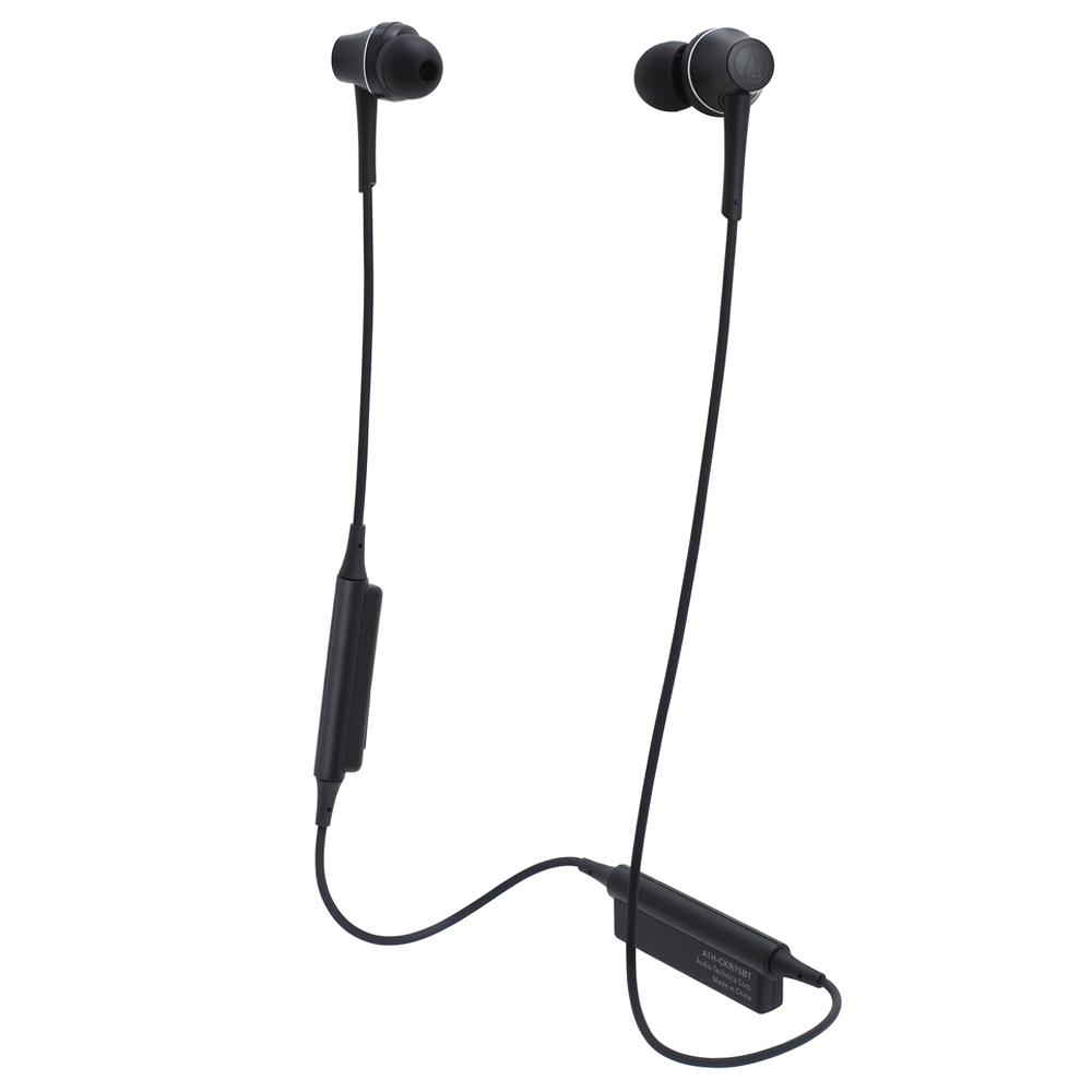 오디오테크니카 블루투스 이어폰, ATH-CKR75BT, 블랙-19-68675877