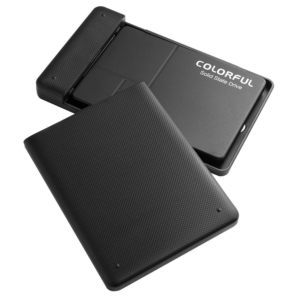 COLORFUL Solid State Drive SL500 ONYX ST + 외장하드 케이스, SL500 ONYX Q, 640GB