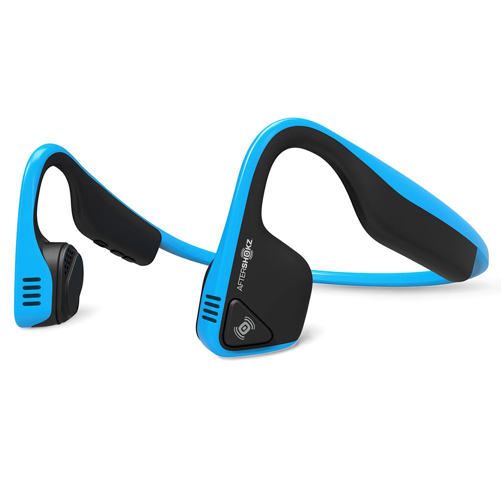 애프터샥 트랙 티타늄 무선 스포츠 블루투스 방수헤드폰, 오션 블루, 단일상품