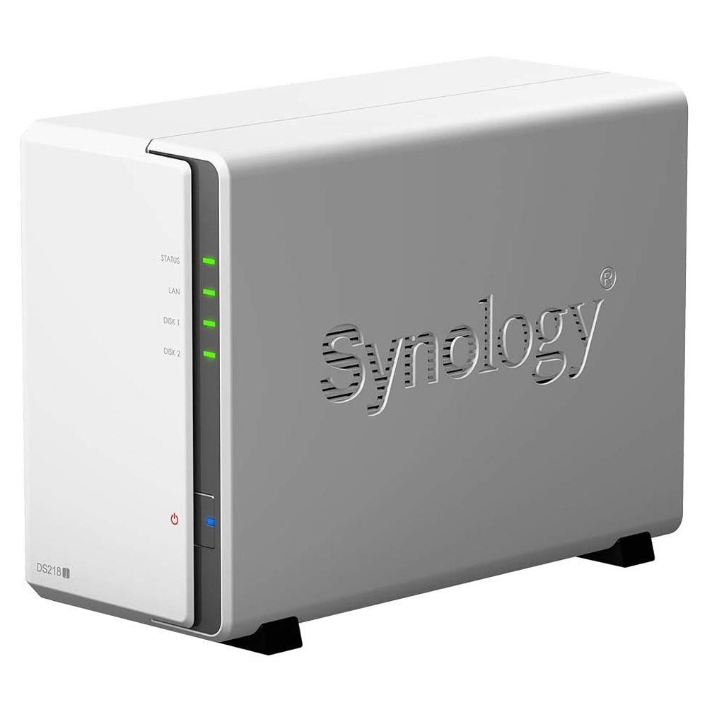 시놀로지 DiskStation DS218J 2베이 NAS, 단일 상품