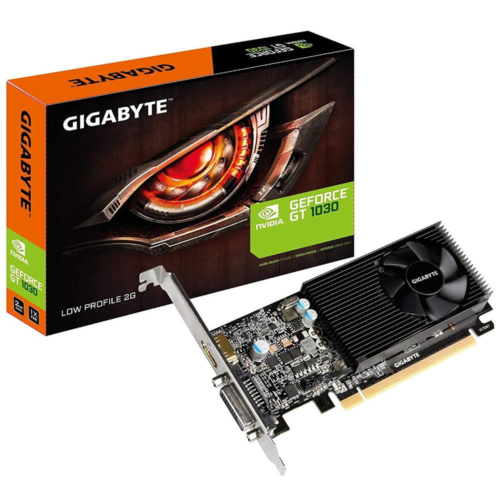 기가바이트 지포스 GT1030 UD2 D5 2GB 미니미 그래픽카드, 단일 상품