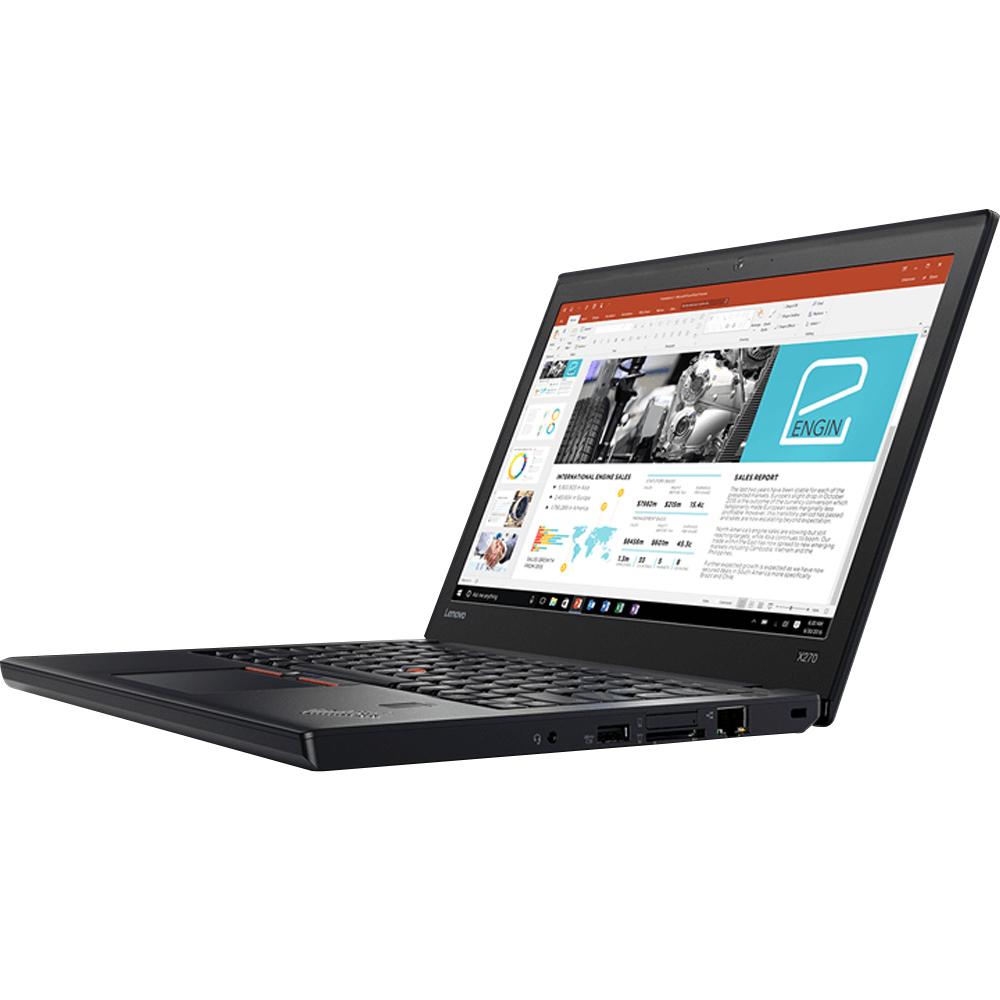 레노버 노트북 ThinkPad X270-20HNA01QKR (i7-7500U 31.8cm 윈10 8G SSD180G), 단일 색상