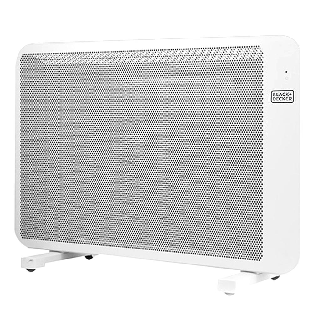 블랙앤데커 고효율 mica 전기 컨벡션 히터 벽걸이 겸용, BXSH1602-A, 단일 색상