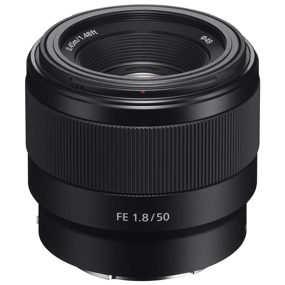 소니 알파 단렌즈 FE 50 mm F1.8 SEL50F18F