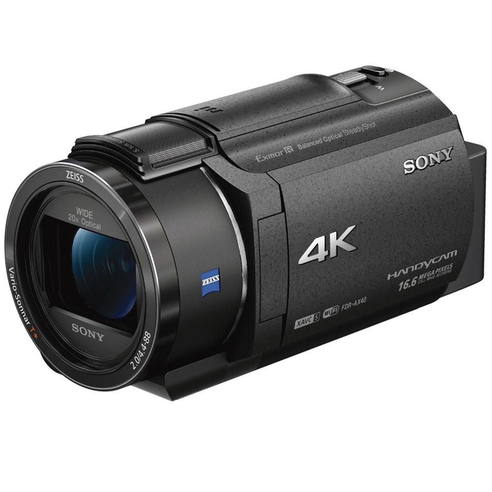 소니 빌트 인 프로젝터 4K 핸디캠 FDR-AXP55