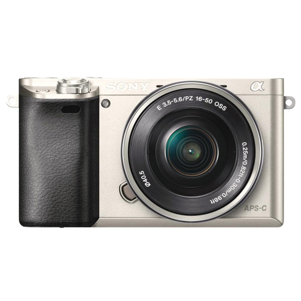 소니 알파 A6000 미러리스카메라 + 파워줌 렌즈킷 L SELP1650, A6000(실버)