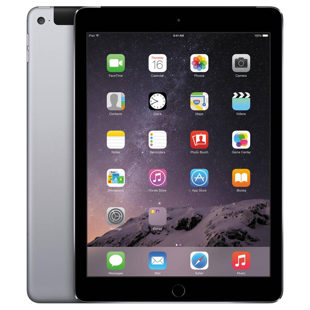 Apple 아이패드 에어2 9.7 Wi-Fi + 셀룰러 32GB, 스페이스 그레이