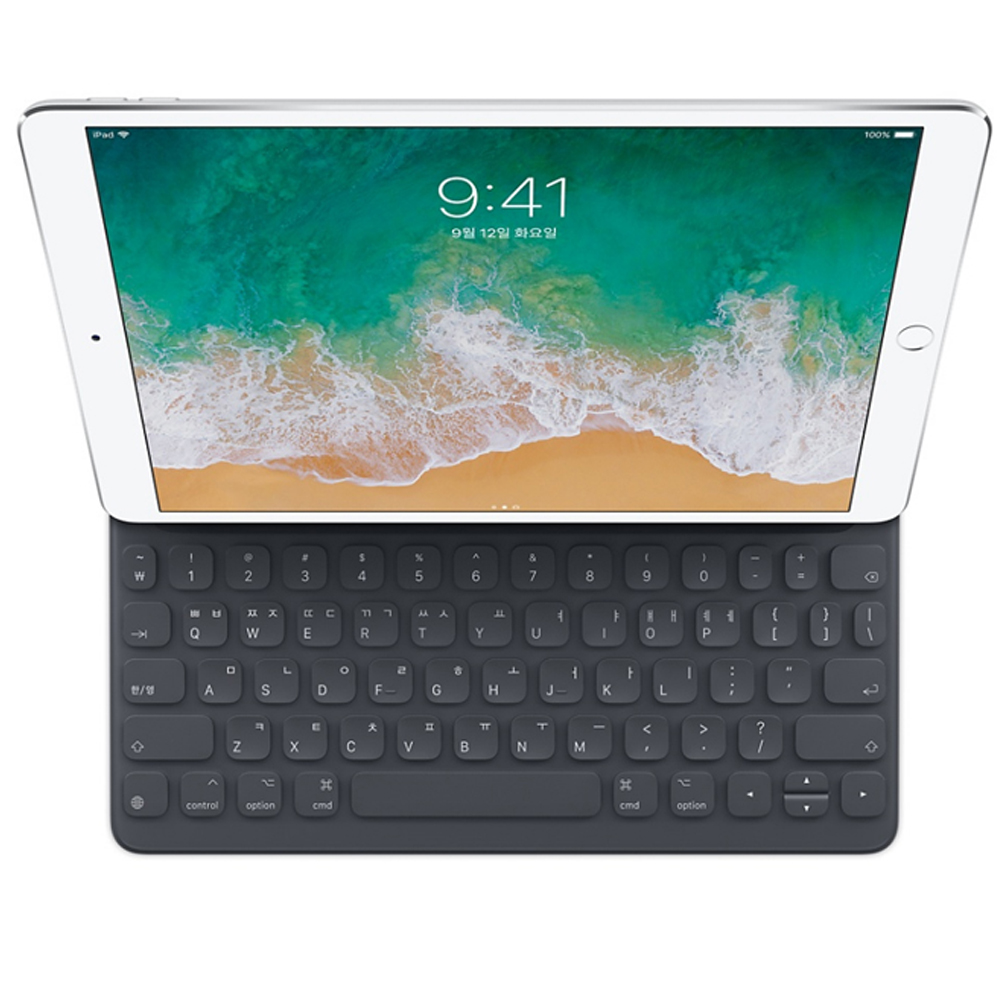 iPad(7세대) 및 iPad Air(3세대)용 스마트 키보드 한국어, MPTL2KH/A