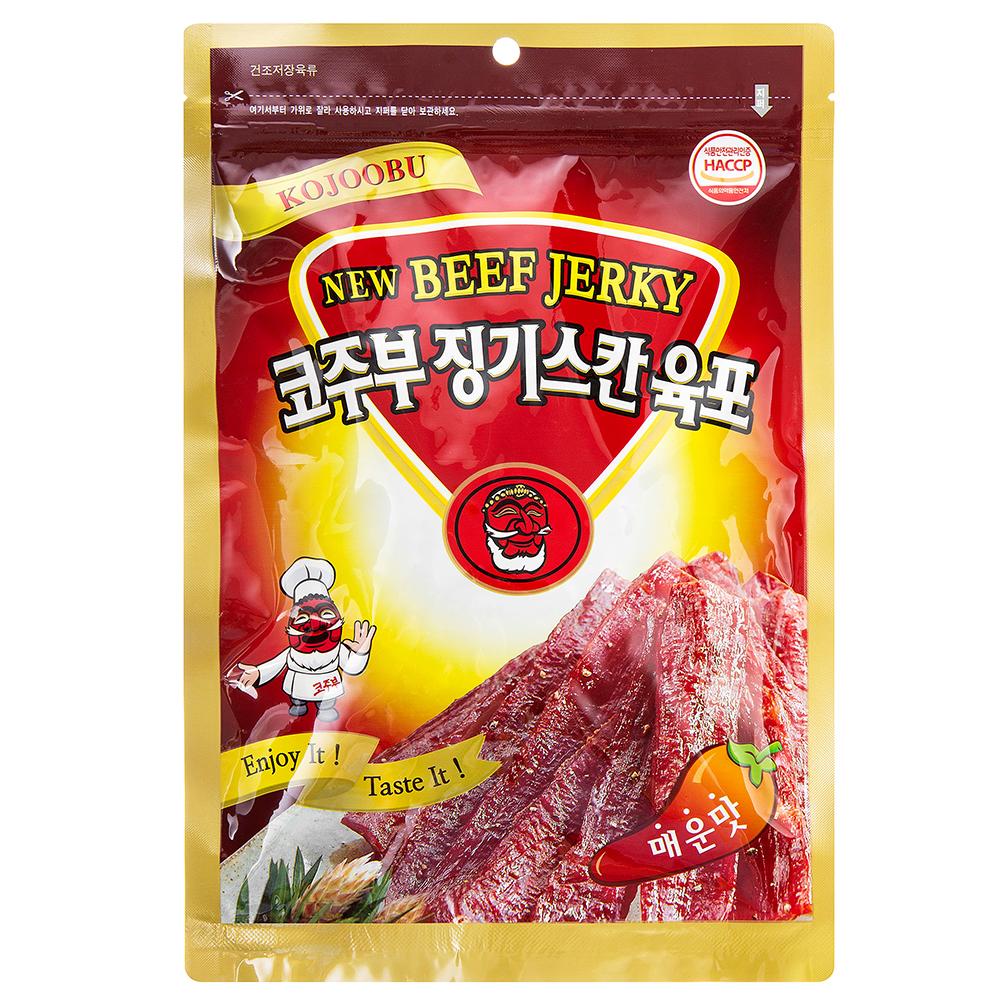 코주부 징기스칸 육포 매운맛, 140g, 1개