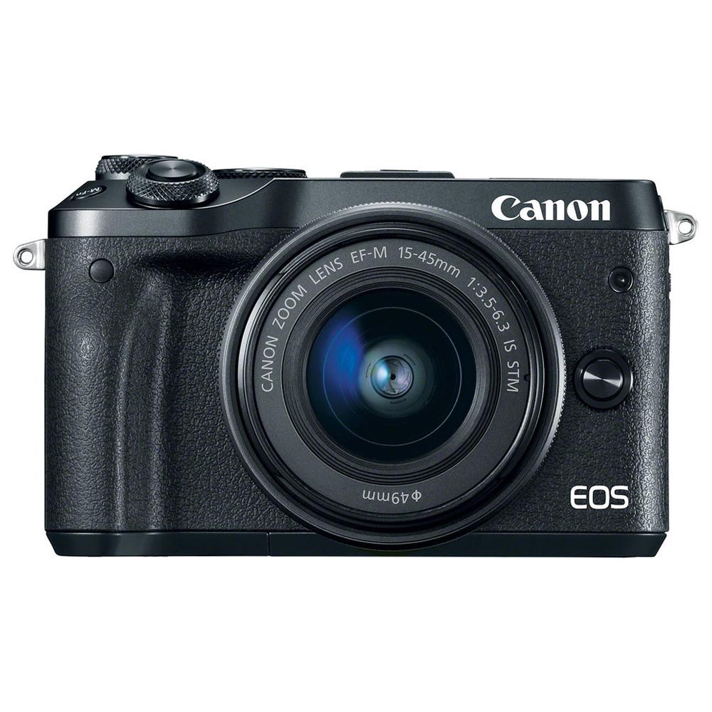 캐논 EOS M6 15-45 미러리스카메라 KIT