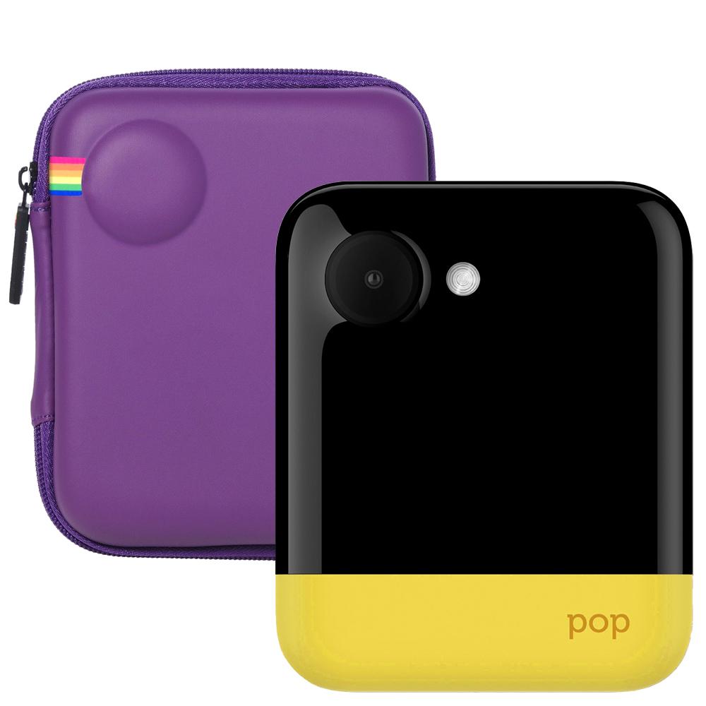 폴라로이드 POP 즉석카메라 모바일 프린터 + 전용 EVA케이스 Purple, POP (Yellow), 1세트