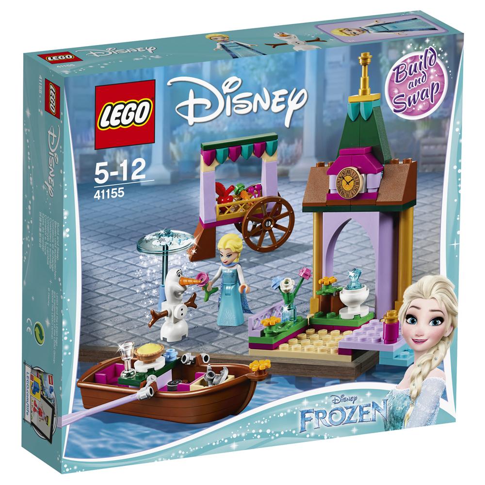 레고 디즈니 프린세스 엘사와 올라프의 시장 구경 41155 혼합색상