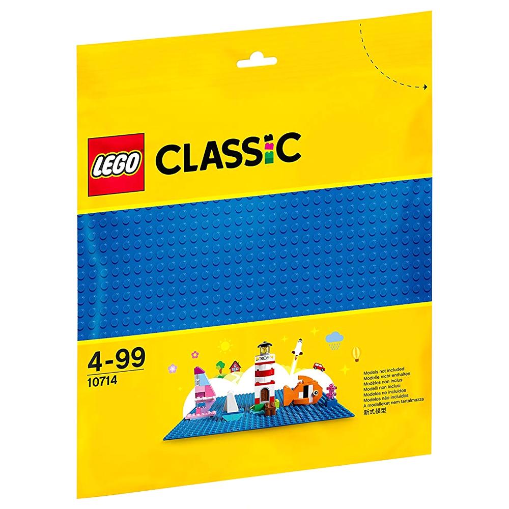레고 클래식 10714 조립판, 파란색