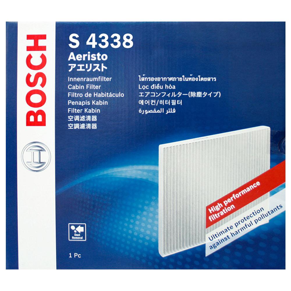 보쉬 차량용 프리미엄 에어컨 히터 필터, S4338, 1개