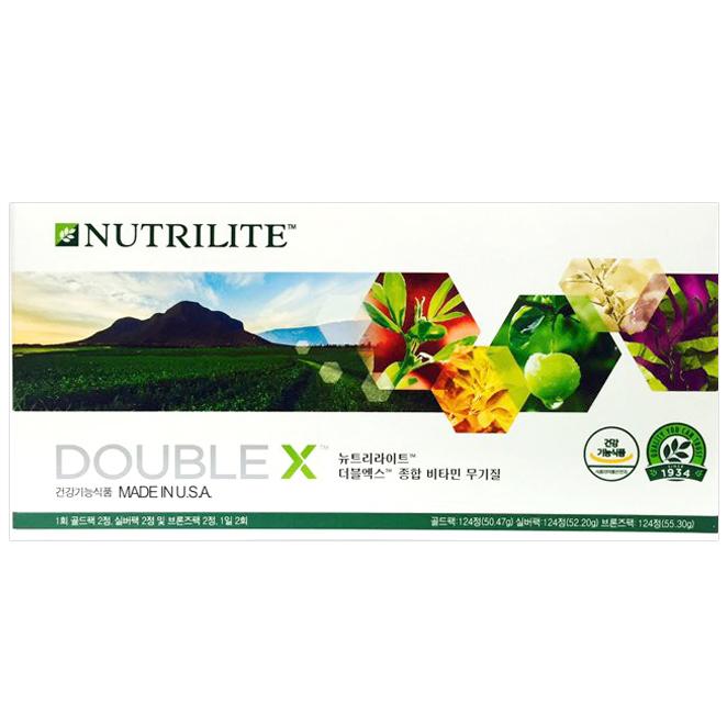 뉴트리라이트 더블엑스 종합 비타민 무기질, 157.97g, 1세트