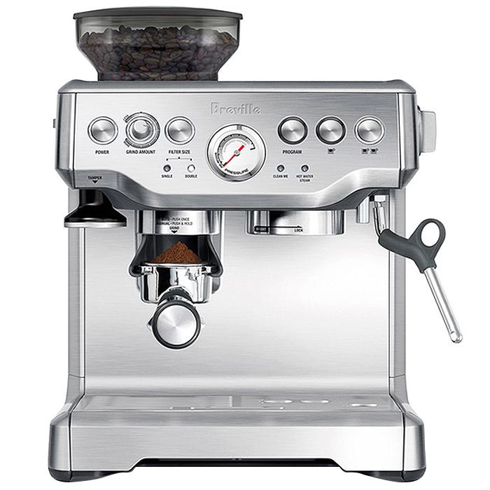 브레빌 바리스타 익스프레스 커피머신 실버, BES870