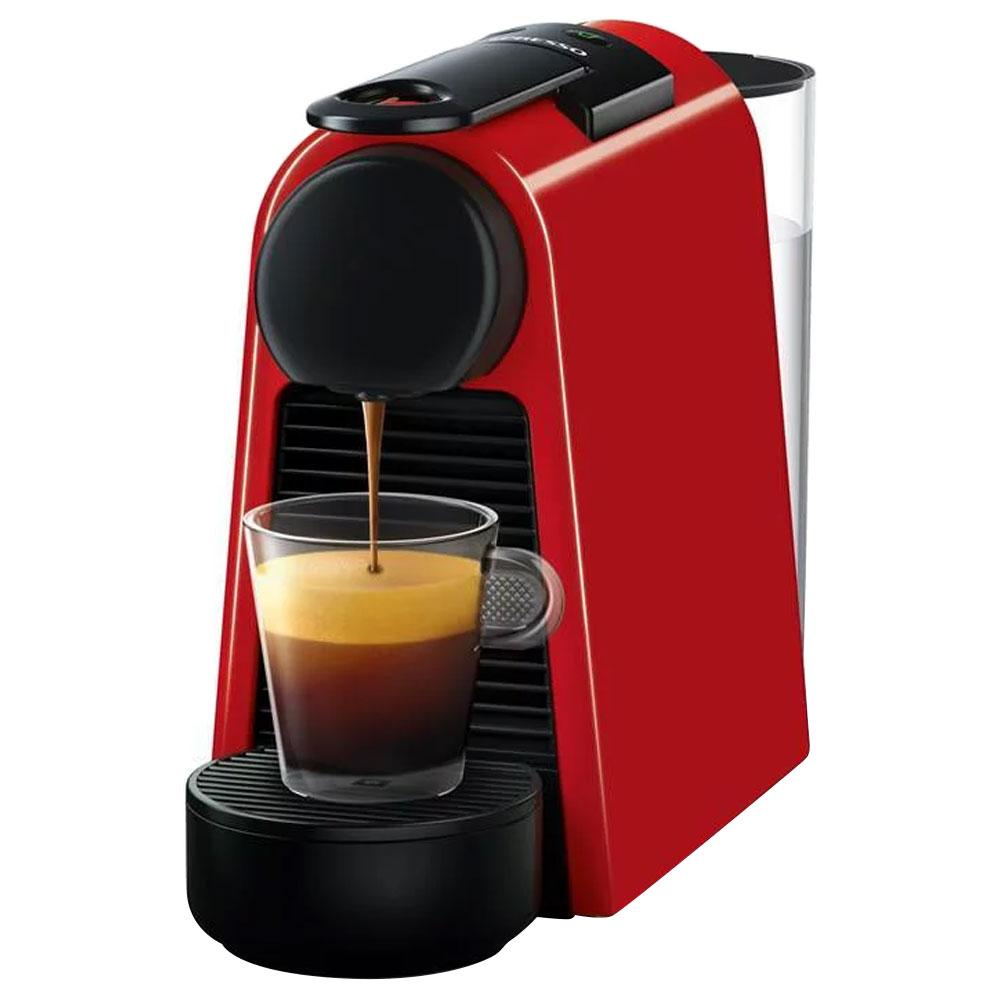네스프레소 에센자 미니 캡슐 커피머신, D30(레드)