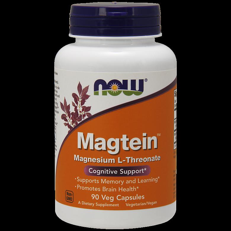 나우푸드 마그테인 마그네슘 L-트리오네이트 베지 캡슐, 90개입, 1개
