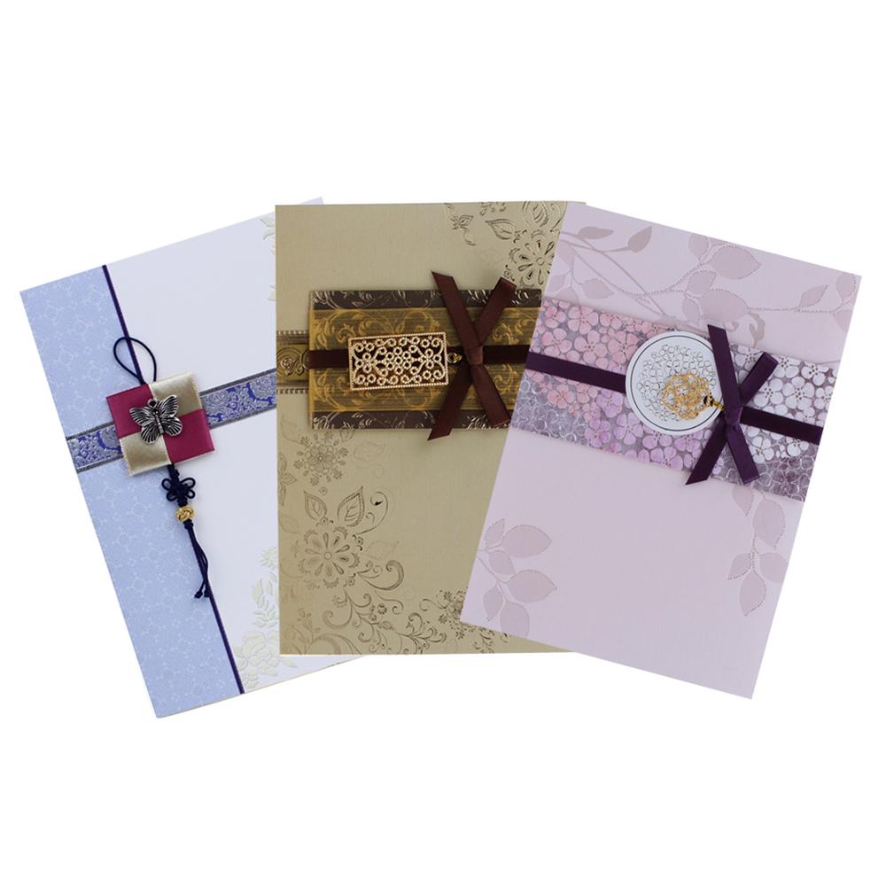 솜씨카드 프리미엄카드 3종세트, 혼합 색상, 1세트