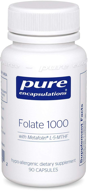 퓨어인캡슐레이션 폴레이트 1000 캡슐, 90개입, 1개