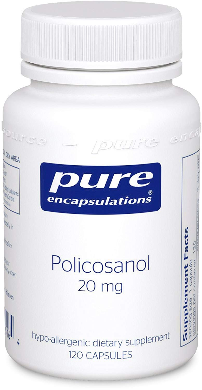 퓨어인캡슐레이션 폴리코사놀 20mg 캡슐, 120개입, 1개