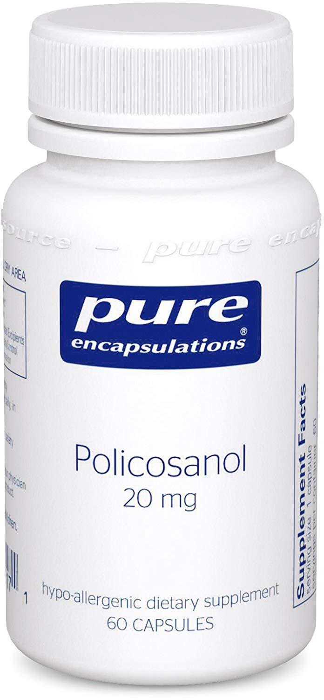 퓨어인캡슐레이션 폴리코사놀 20mg 캡슐, 60개입, 1개