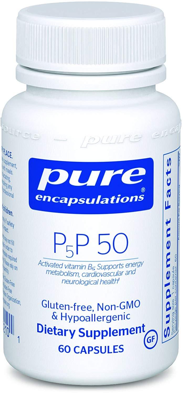 퓨어인캡슐레이션 P5P 50 액티베이티드 B6 캡슐, 60개입, 1개