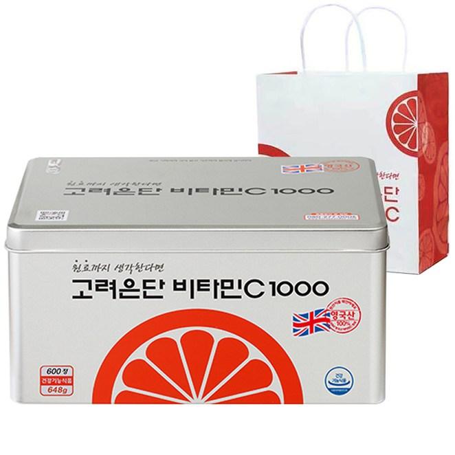 고려은단 비타민C 1000 600정, 1개
