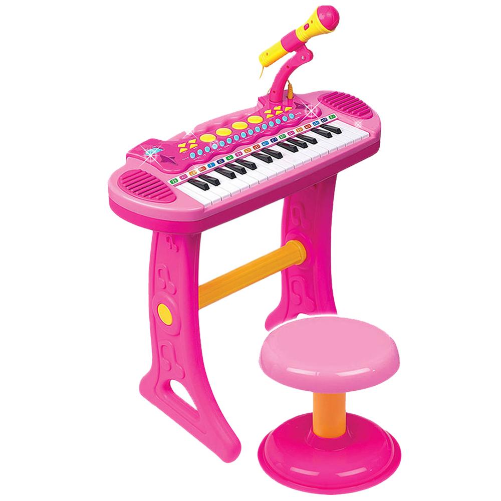 바니랜드 어린이 마이크 피아노, 혼합색상