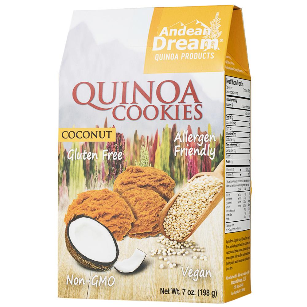 앤디언드림 퀴노아 쿠키, 198g, 코코넛