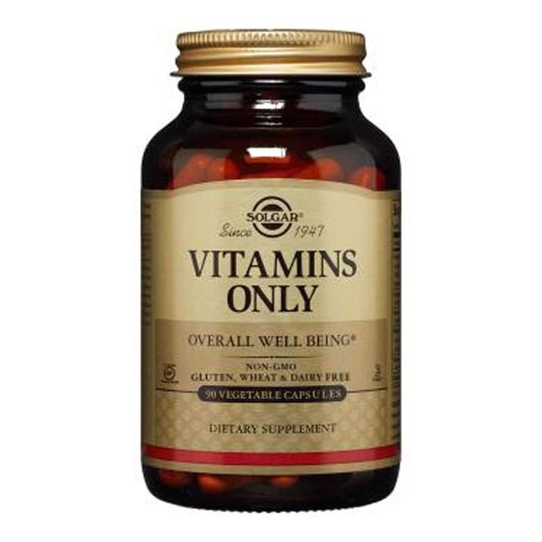솔가 비타민즈 온리 베지터블 캡슐, 90개입, 1개