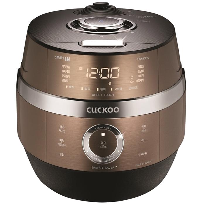 쿠쿠 2기압 IoT IH압력밥솥 골드 6인용 CRP-JHI0630FG