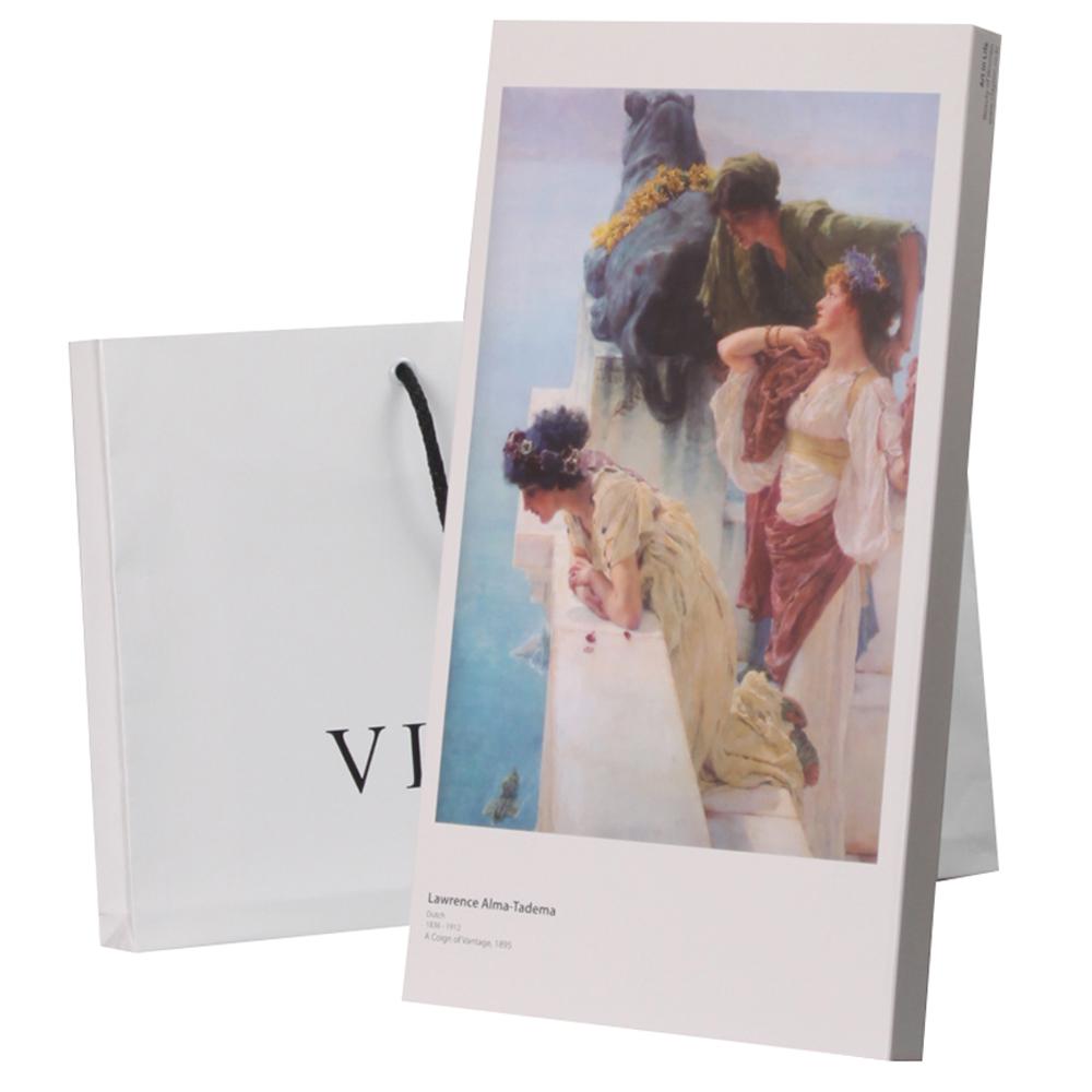 빅토리아 그림이 있는 차 선물세트 6호  쇼핑백 잉글리쉬브랙퍼스트 5p  히비스커스 5p  루이보스 5p 1세트