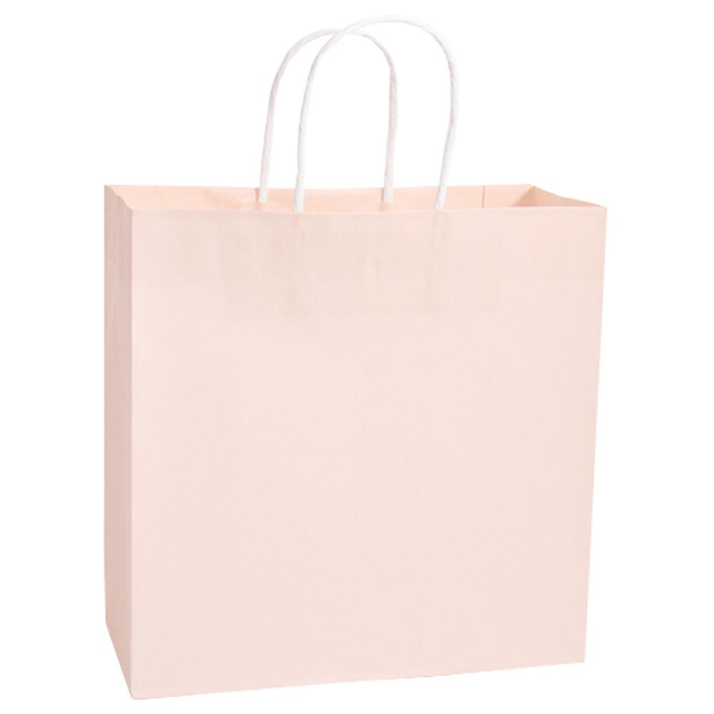 봄91 종이쇼핑백 10p, 연핑크