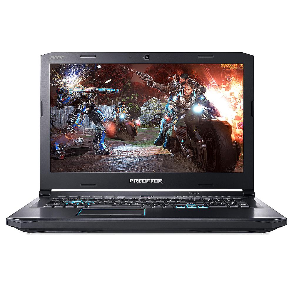 에이서 게이밍노트북 Predator 헬리오스500 PH517-51-940H WIN10 (8세대 i9 WIN10 32GB 512GB SSD+1TB GTX1070 144Hz), 블랙