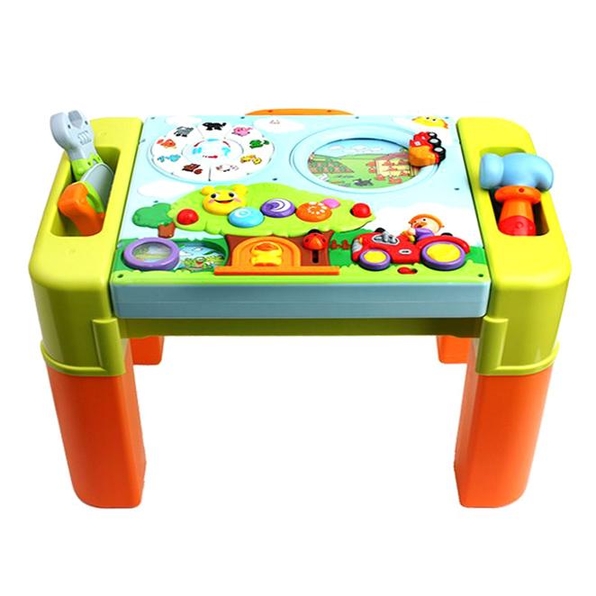 키움하우스 아이큐 토들러 놀이테이블, 혼합색상