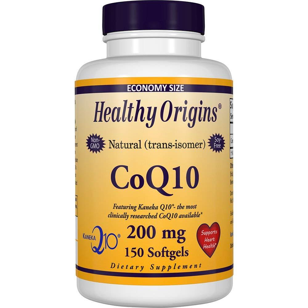 Healthy Origins CoQ10 200mg 소프트젤, 150개입, 1개