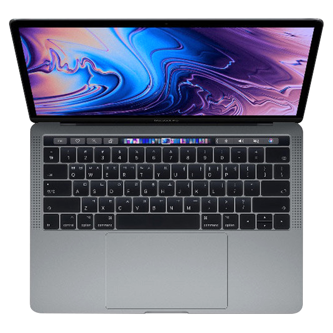 Apple 2018년 맥북 프로 터치바 13 (i5-2.3GHz quad-core 8GB MAC OS SSD 256GB), 스페이스 그레이(MR9Q2KH/A)