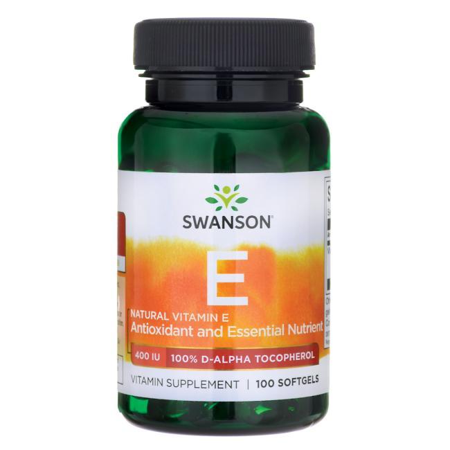 스완슨 내추럴 비타민 E 400IU 소프트젤, 100개입, 1개
