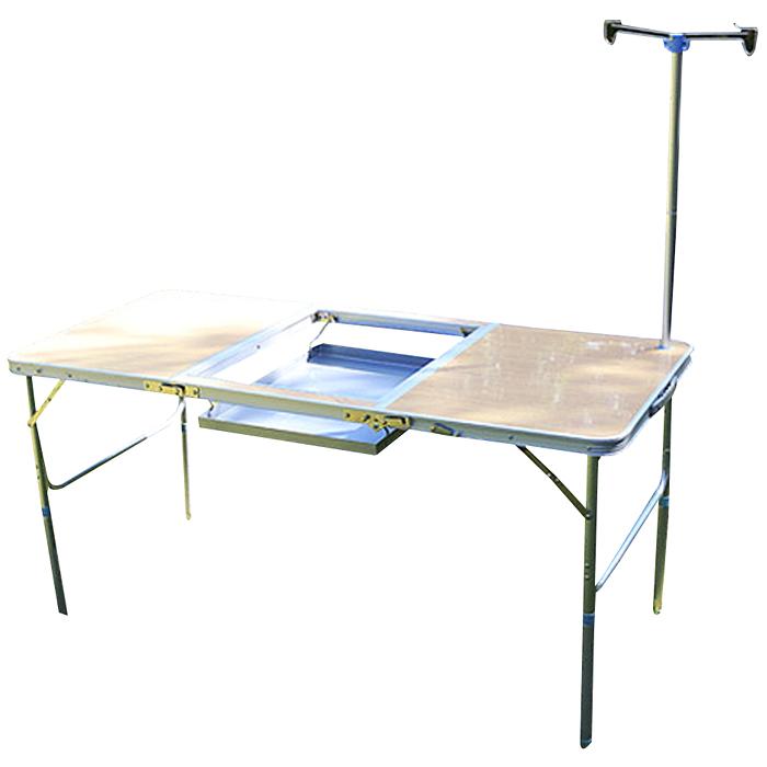조아캠프 바베큐 테이블 T1350, 우드-9-37366757