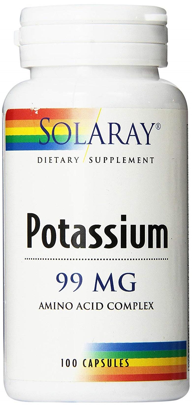 솔라레이 포타슘 99mg 캡슐, 100개입, 1개