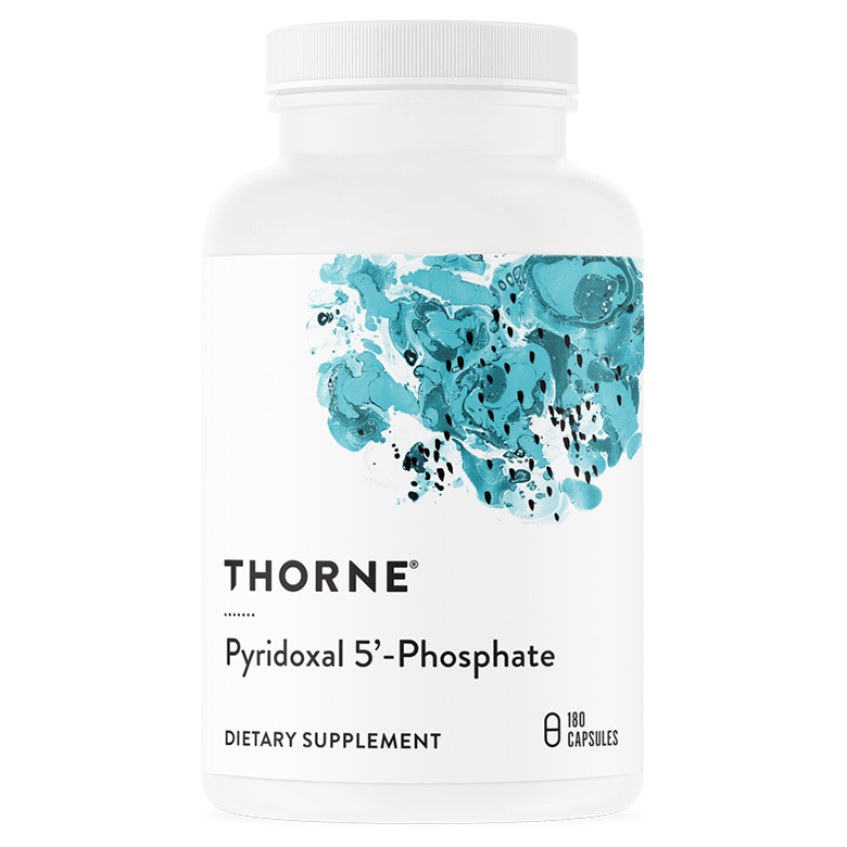 Thorne Research 피리독살 5-포스페이트 베지테리안 캡슐, 180개입, 1개