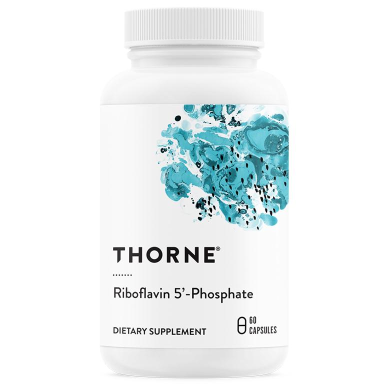 Thorne Research 리보플라빈 5-포스페이트 베지테리안 캡슐, 60개입, 1개