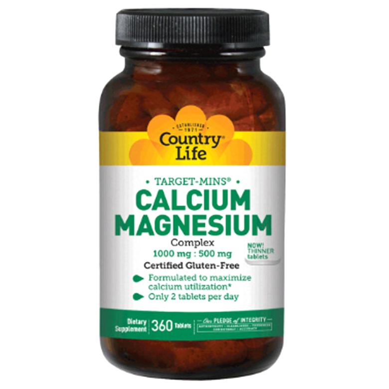 컨트리라이프 칼슘 마그네슘 타블렛, 360개입, 1개
