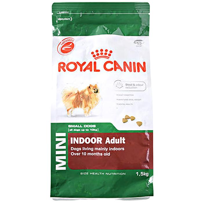 로얄캐닌 독 미니 인도어 어덜트 1.5kg, 로얄캐닌인도어어덜트1.5kg